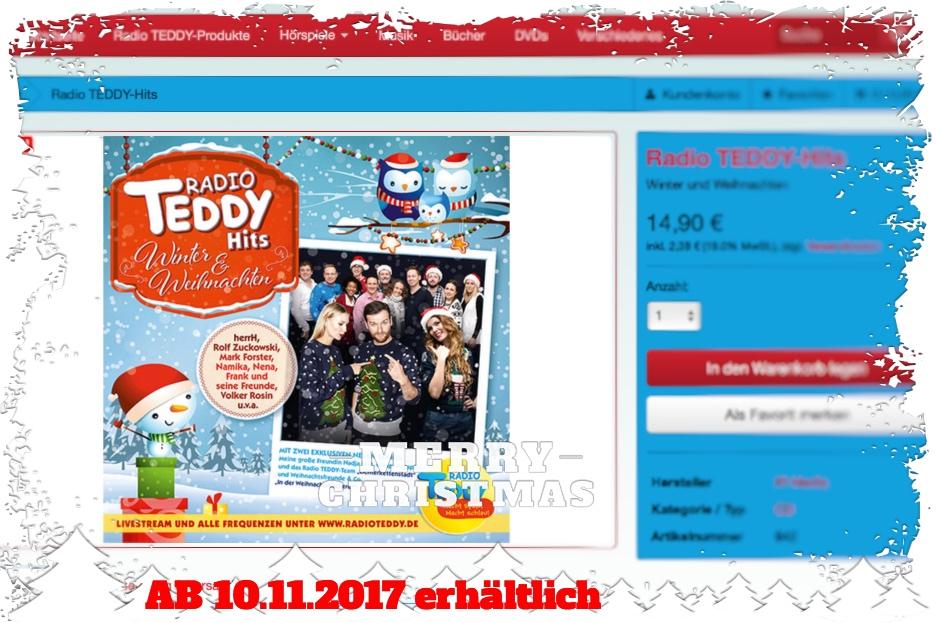 Radio Teddy Winter & Weihnachten CD_Fotor